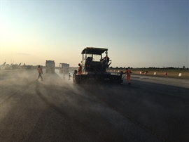 WORK ON RUNWAY 2018