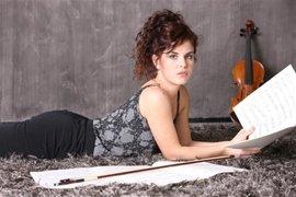 Germana Porcu al violino