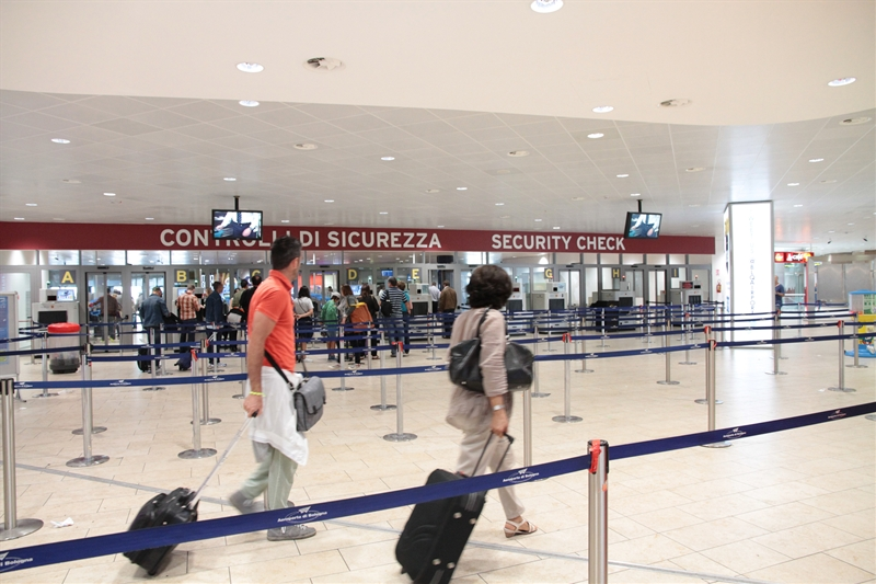 Terminal passeggeri - area security