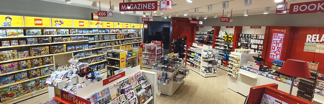 Relay - News stand, Tobacco Shop & Lego® Store