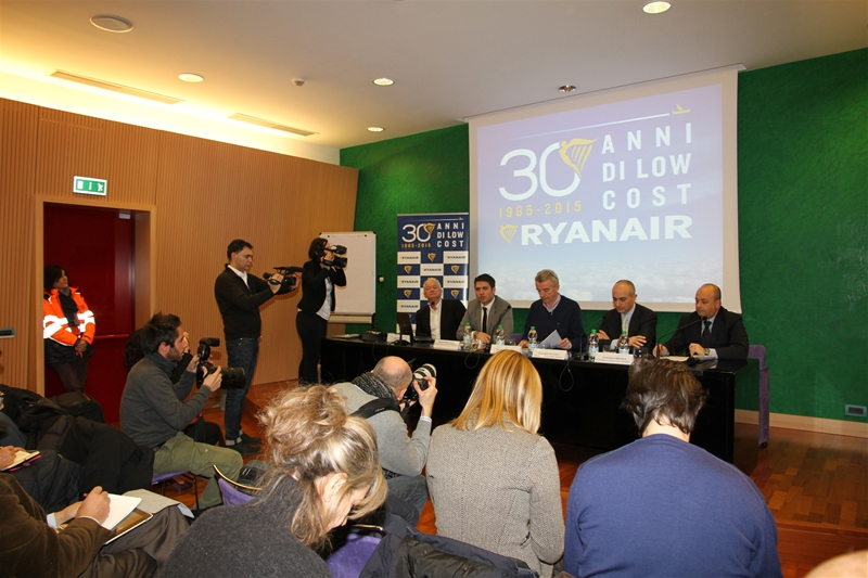 Ryanair press conference