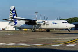 VLM Airlines Fokker 50