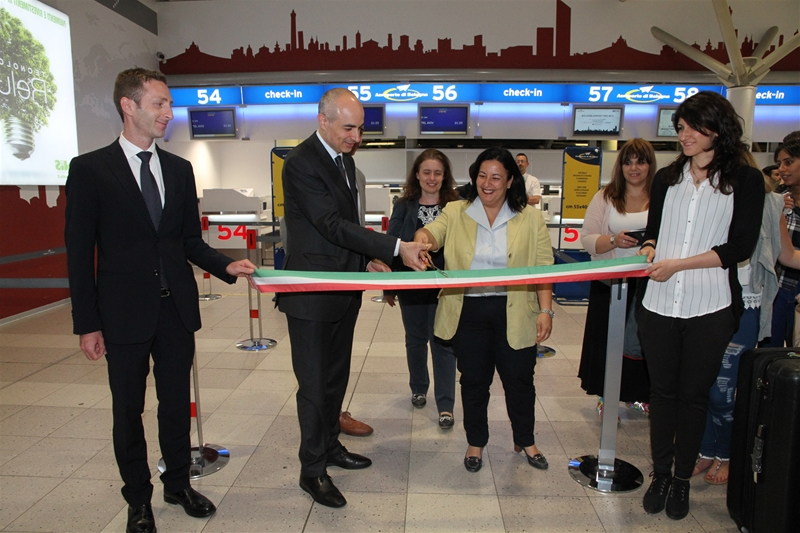 New flight Bologna - Tel Aviv debut
