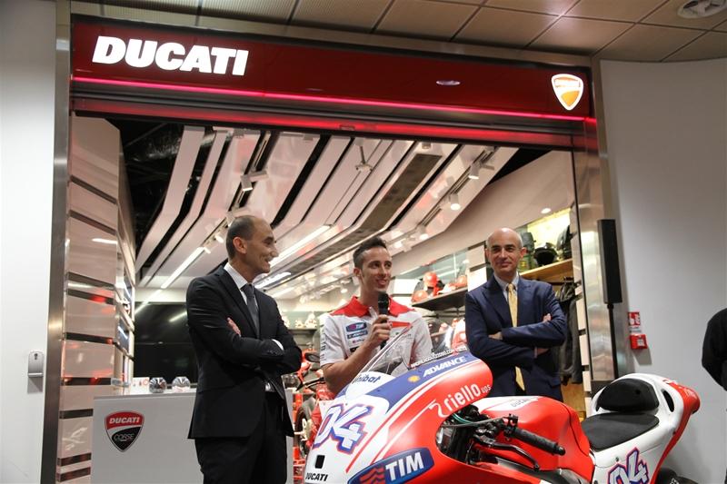 Ducati Shop event