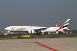 Emirates first flight